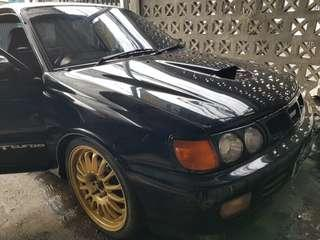 STARLET GT TURBO COUPE (rare)