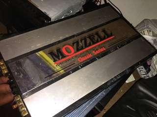 Mozzell mobile audio system