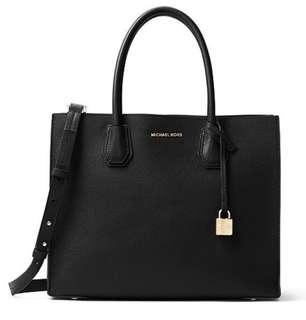 💥💥💥PRICE DROP💥💥💥Authentic MICHAEL KORS Mercer Large Leather tote with strap