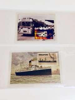 🚚 Handcrafted Stamps Artworks