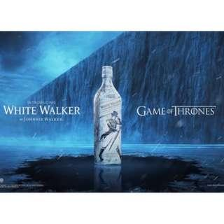 *有禮盒* Johnnie Walker x Game of Thrones限量版威士忌White Walker