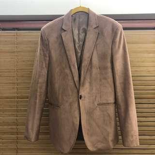 韓國製🇰🇷 But2 club Men Suit Outfit 卡其西裝外套 ( Size L )