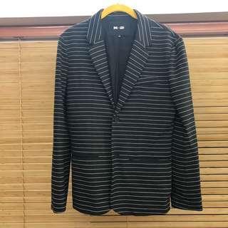 大清貨‼️ K-FACTO-2Y Men Suit Outfit 黑色西裝外套 ( Size 38 )
