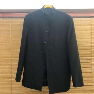大清貨‼️ De Mono France Men Suit Outfit 黑色西裝中山裝日本校園裝外套
