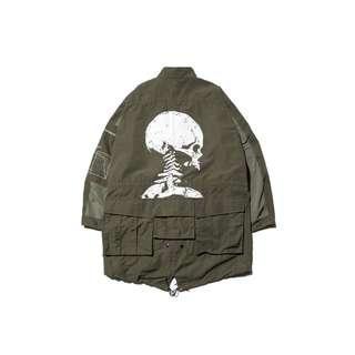 (收M)AES Skeleton M65 Parka 綠