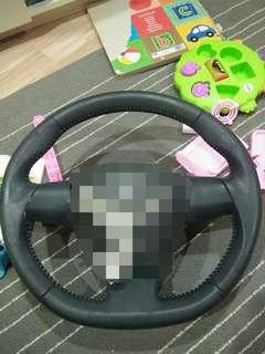 Steering leather toyota wish zge / vios with paddle shift