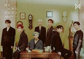 (SALES) MONSTA X <WE ARE HERE> ALBUMS