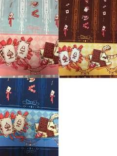 Trump Cards Poker Lolita Print Fabric