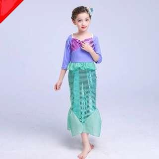🚚 Instock Mermaid🧜‍♀️ Costume Mermaid Dress Party Dress offer