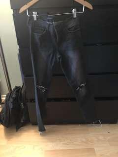 flying monkeys low rise jeans