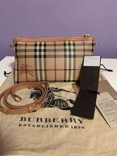 🚚 [ Pending  ] Burberry Pale Coral Pink Haymarket Check Coated