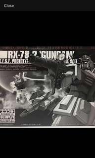HG 1/144 RX-78-2 Ecopla Black limited edition-Gundam