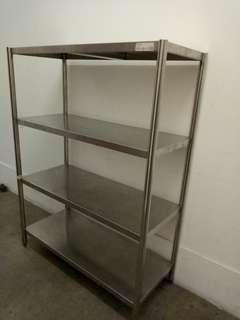 Stainless steel table Shelving FREE DELIVERY