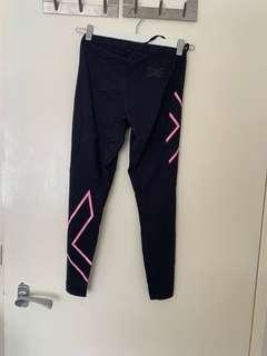 2XU Pink Compression tights