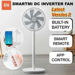 Xiaomi Smart DC fan Smartmi Natural Wind Stand Fan wireless (**WITH** BUILT IN BATTERY and REMOTE CONTROL)