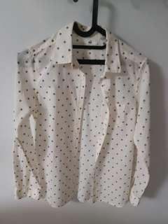 Uniqlo blouse / kemeja