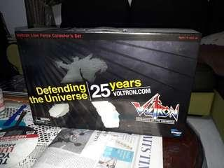 25th Anniversary Voltron Lion Force Collector's Set