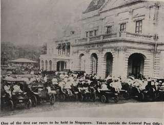🚚 Vintage Singapore Car Race