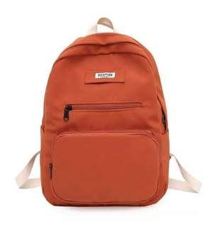 🚚 Backpack Large Capacity Multi Pocket Computer Bag Korean Style Boy Girl
