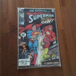 🚚 The adventures of super man super man vs flash