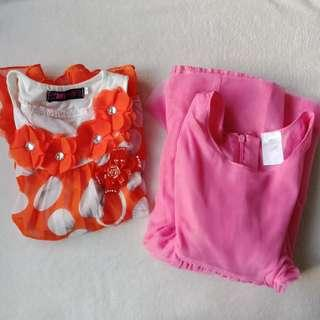 LAST DAY SALE - Set of Toddler Dresses, 2-3T
