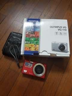 🚚 Olympus VG-110 Digital Compact Camera
