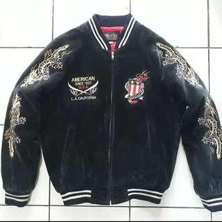 SUKAJAN Velvet Vintage RARE Jacket