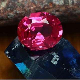 缅甸红色尖晶石 1.80 克拉