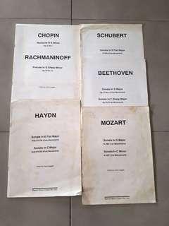 🚚 Piano Music Books