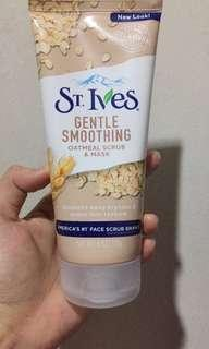 St ives gentle smoothing oat (gentle wash,scrub and mask)