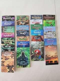 Sunshine Science Books Nature Library set