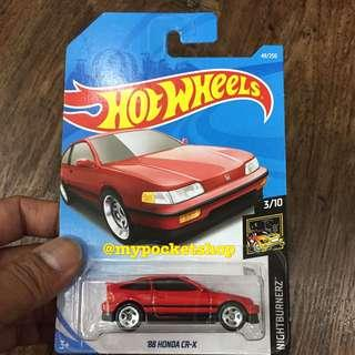 🚚 Hot Wheels '88 HONDA CR-X (Red)