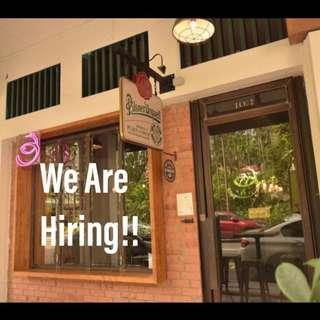 Front of House Service Crew (Full Time & Perm Part Time)
