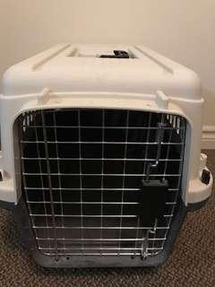 Dog crate carrier large
