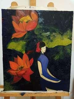 Oil Painting Chinese Oriental
