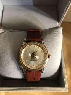 🚚 Bulova 套k金機械錶