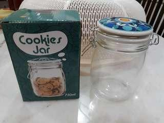 Glass Cookies Jar 750ml