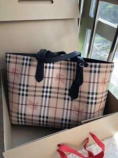 Burberry Reversible Tote Bag