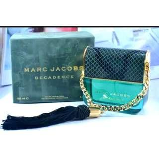 MARC JACOBS DECADENCE FULLBOX 100ML💚💚💚 FEBRUARY SUPER SALE!🔥🔥 Khusus bulan February BUY 5 PERFUMES FREE 1 PERFUME dari kita random ya😍😍  Authentic Guarantee/100% MONEYBACK👌 Info Grosir & Partai WA:085782955531✔