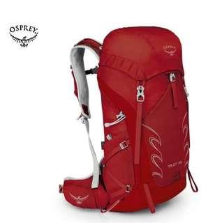 OSPREY TALON 33 LIGHT BACKPACKING | DAY HIKING | DAYPACK  Color : MARTIAN RED