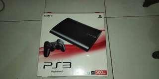 PS3 super slim ofw 500gb udah full game