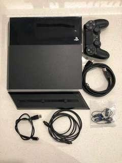 PS4 500gb (6.20), Stand & FFXV Game