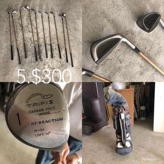 🚚 高爾夫球竿組$100