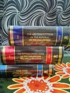 LAW SCHOOL BOOKS -codals
