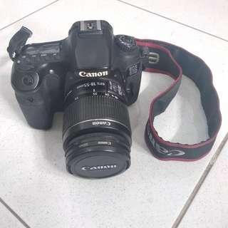 Camera canon 60D + tamron