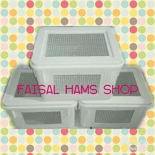 Kandang hamster box 8ltr modif