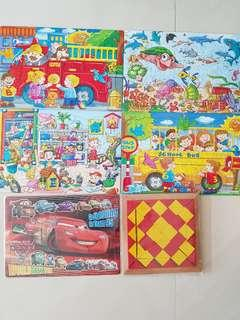 Kids Puzzles Set 3