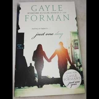 Anything can happen in just one day by Gayle Forman
