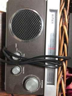 Vintage Radio and Cassette Player