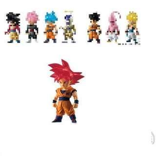 全新 Dragon Ball DB Z Adverge SP 2 02 龍珠 Z 超 食玩 盒蛋 紅髮 孫悟空 1 盒